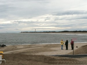 The Cove Beach in Cape May, NJ - Post-Sandy